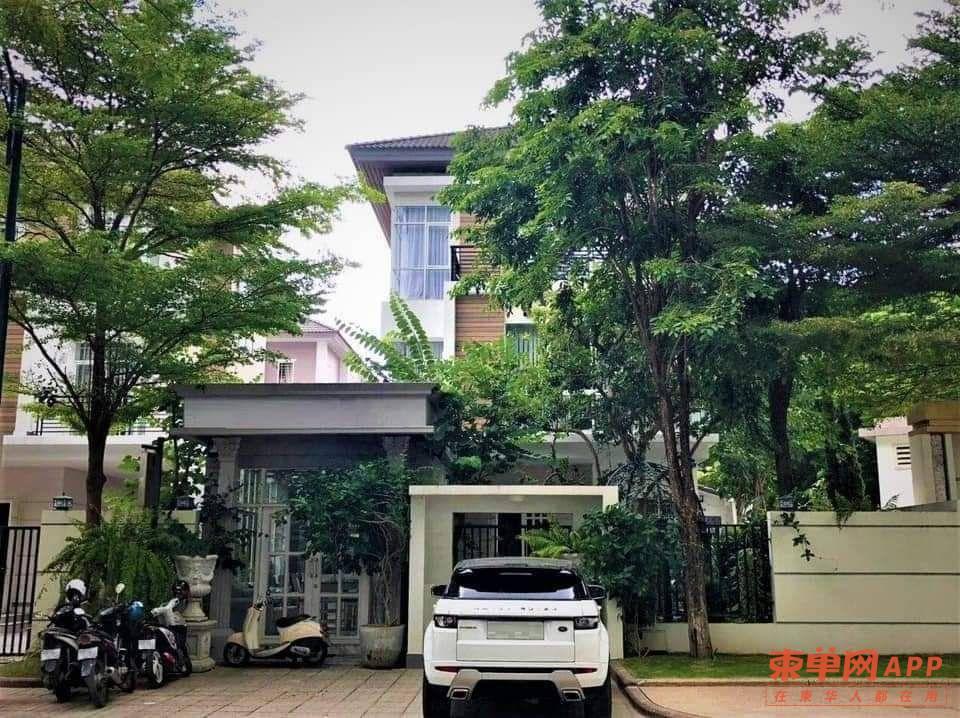 柬埔寨炳发城独栋别墅转让