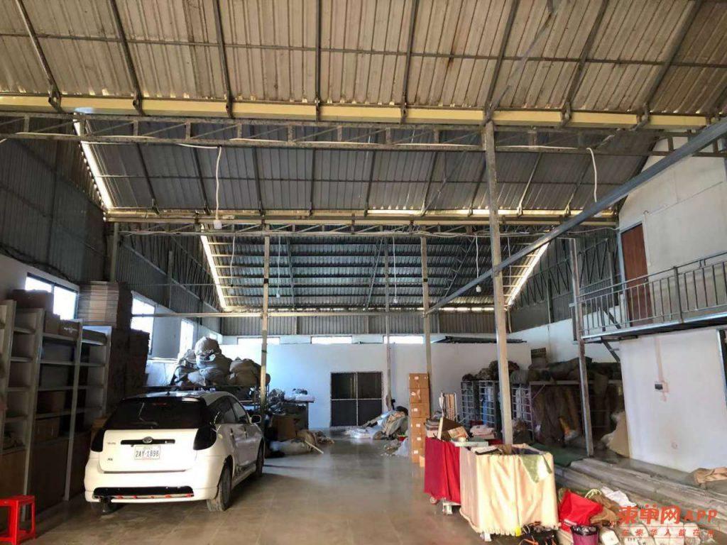 柬埔寨金边机场附近仓库出租或合租带装修
