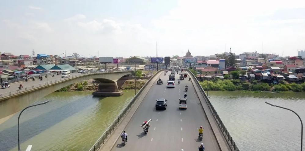 全民关注,柬埔寨金边又添一座跨河大桥!