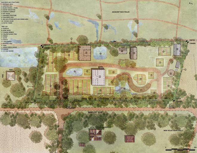 柬埔寨社区农业技术园即将启动